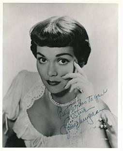 Jane Wyman- 8 x 10 Vintage Glossy signed photograph