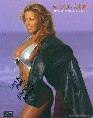 Mercedes Ashley - 8 x 10 Signed Photograph w/COA