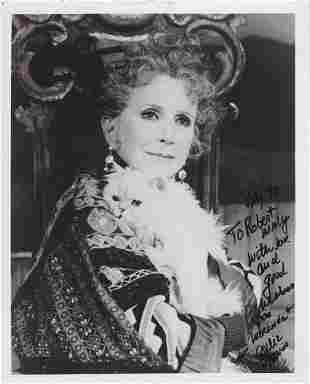 Julie Harris - Signed 8 x 10 Photograph w/COA