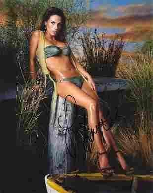 Bonnie-Jill Laflin - 8 x 10 Signed Photograph w/COA