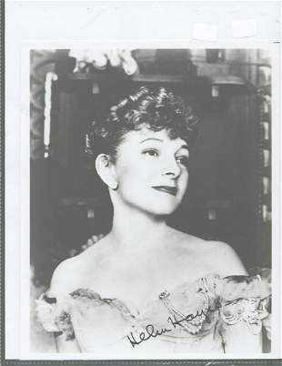 Helen Hayes - 8 x 10 Signed photograph