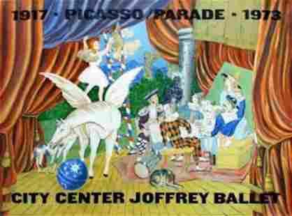 Pablo Picasso Parade, City Center Joffrey Ballet 1973