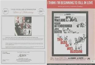 ShirleyMacLaine - Signed 9 x 12 Vintage Music Sheet