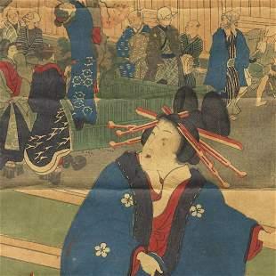 Yoshitora (active circa 1840 - 1880) - Original