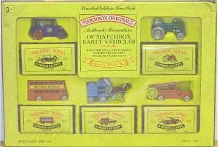 MATCHBOX LIMITED EDITION FIVE PACK DIE-CAST VEHICLES