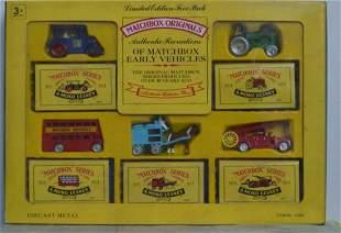 MATCHBOX L. EDITION FIVE PACK DIE-CAST VEHICLES #2