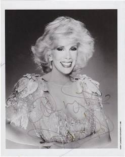 Joan Rivers - 8 x 10 Signed Photograph w/COA