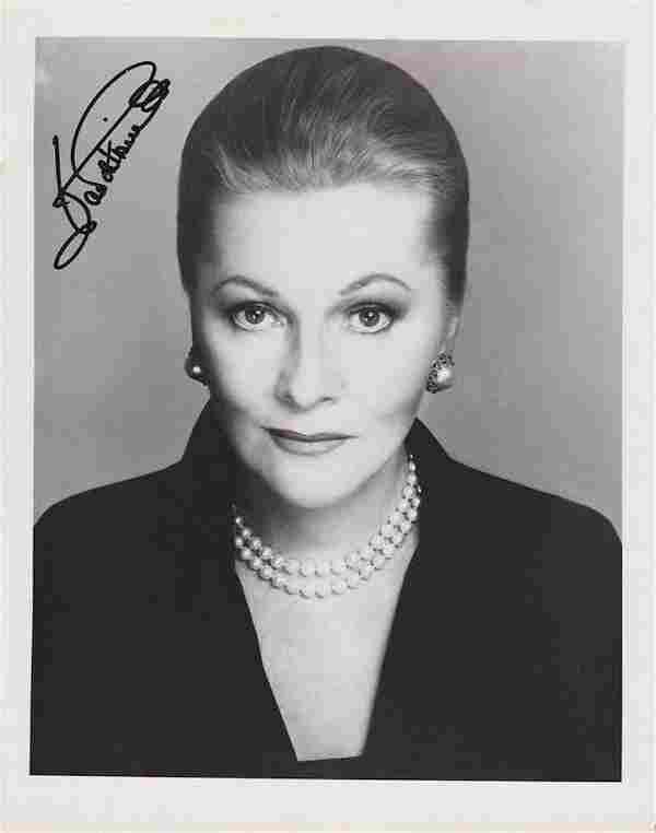Joan Fontaine - Signed 8 x 10 Photograph w/COA