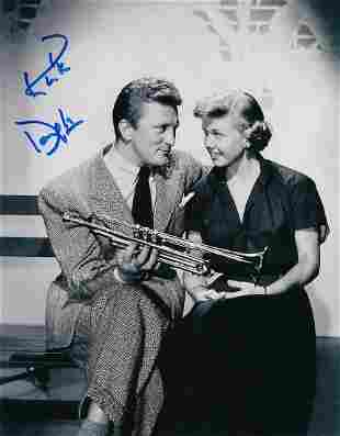 Kirk Douglas- 8 X 10 Signed photograph of him with