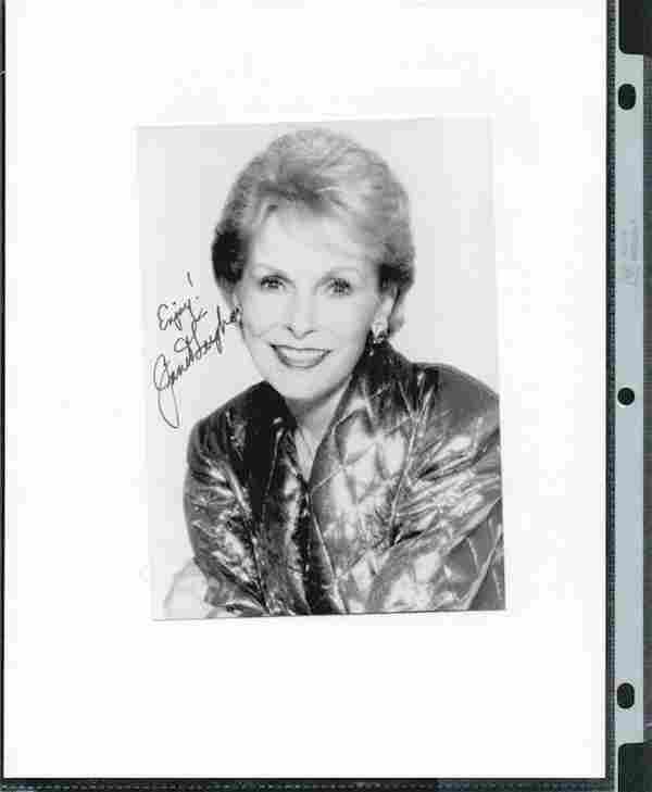 JANET LEIGH SIGNED 5 X 7 PHOTOGRAPH W/COA