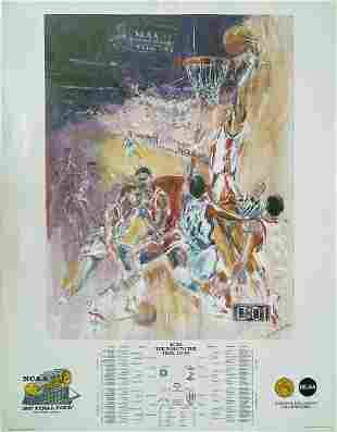 "NCAA 1987 ""FINAL FOUR"" POSTER"