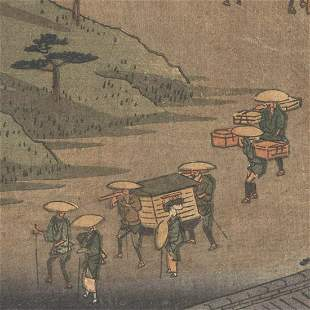 Hiroshige (1797 - 1858) - Original Woodblock Print