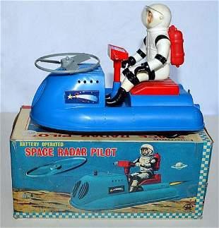 SPACE RADAR PILOT. BATTERY OPERATED