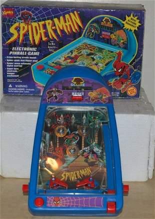 SPIDERMAN ELECTRONIC PINBALL GAME. NO. 61405