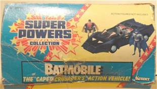 """BATMOBILE """"THE CAPED CRUSADER ACTION VEHICLE"""""""
