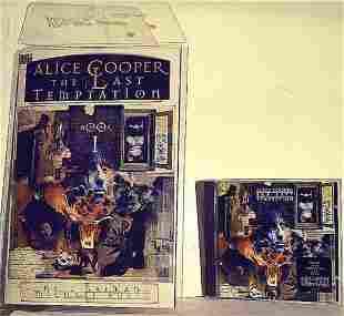 "ALICE COOPER ""THE LAST TEMPTATION"" BOOK & CD SET"