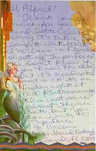 Julie Austin - 8 x 10 Two page ALS & signed vintage