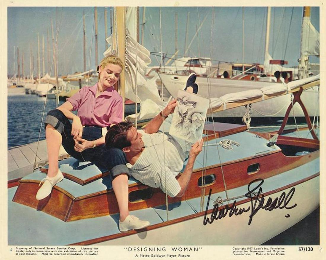 Lauren Bacall- Vintage signed 10 x 8 photograph w/COA