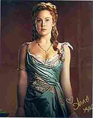 Anna Hutchinson - 8 x 10 Signed Photograph w/COA