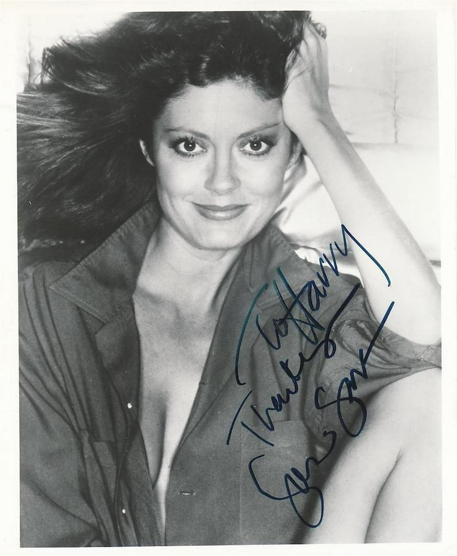 Susan Sarandon - 8 x 10 Signed vintage Photograph w/COA