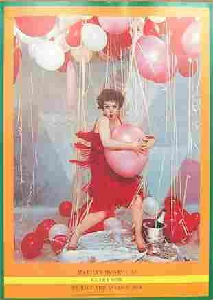 "RICHARD AVEDON - ""MARILYN MONROE AS CLARA BOW, 1958"