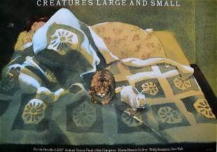 """Milton Glaser - """"Creatures Large and Small"""""""