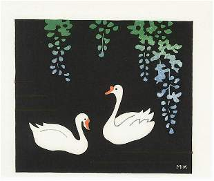 Makoto Kobayashi - Original Woodblock Print