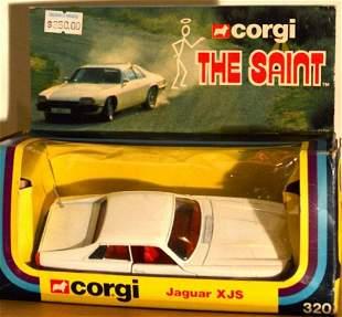 """CORGI """"THE SAINT"""" JAGUAR XJS. NUMBER 320"""