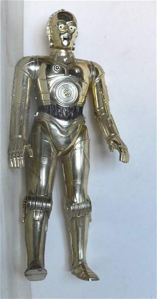 """STAR WARS C-3PO LOOSED 12"""" ACTION FIGURE"""