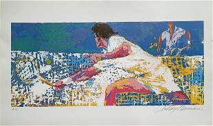 "Leroy Neiman - ""Tennis Player"" Poster (Original"