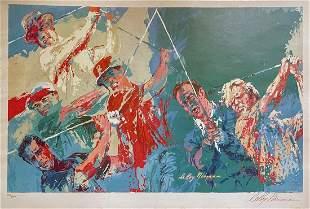 "Leroy Neiman - ""Golf Champions"" Poster (Original"