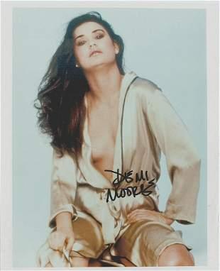 Demi Moore - 8 x 10 Signed Photograph w/COA