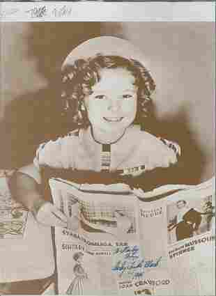 Shirley Temple Black - 11 x 14 Signed Photograph w/COA