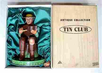 ANTIQUE COLLECTION TIN CLUB FIGURE #2