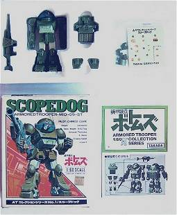 TAKARA SCOPEDOG 1/60 SCALE ARMORED TROOPER ROBOT