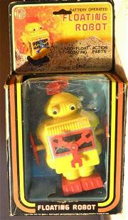 BATTERY OPERATED FLOATING ROBOT (CR)