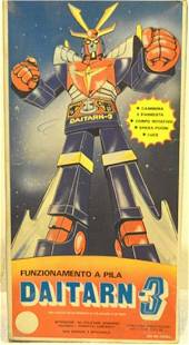 BATTERY OPERATED DAITARN-3 ACTION ROBOT