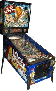131: Tales from the Crypt Pinball Machine