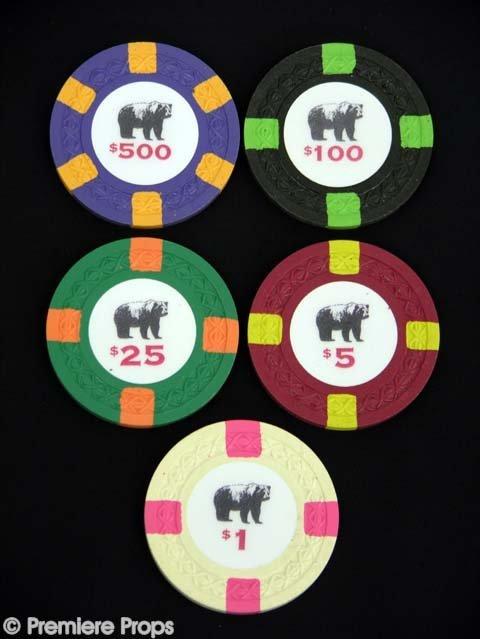 159: ROUNDERS Teddy KGB's (JOHN MALKOVICH) Poker Chips