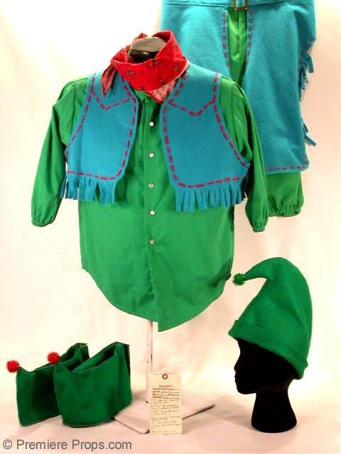 296: BAD SANTA Marcus's (TONY COX) Hero Elf Costume
