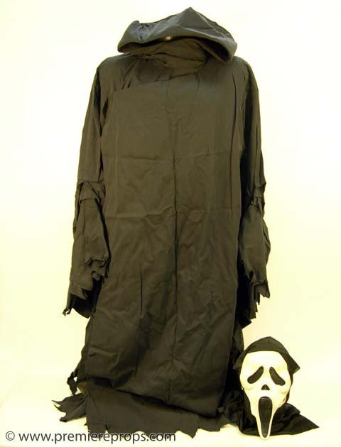 310: SCARY MOVIE Killer's Hero Mask & Robe