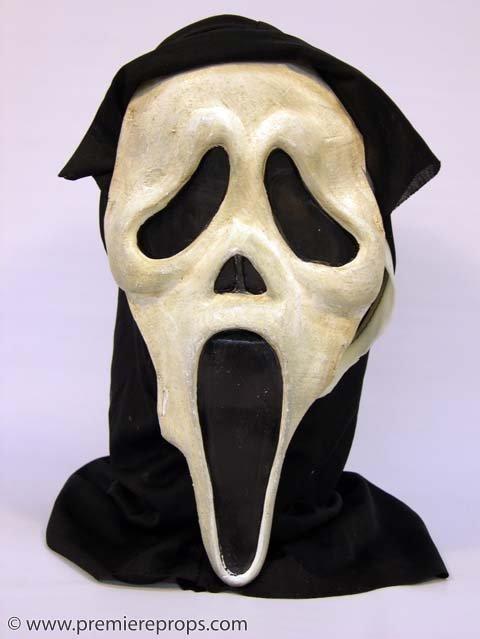 310: SCARY MOVIE Killer's Hero Mask & Robe - 2