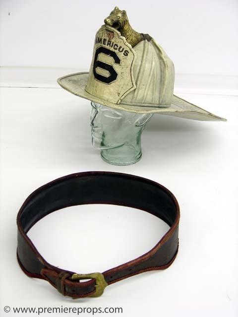 """369: GANGS OF NEW YORK """"Americus"""" Fireman Helmet"""