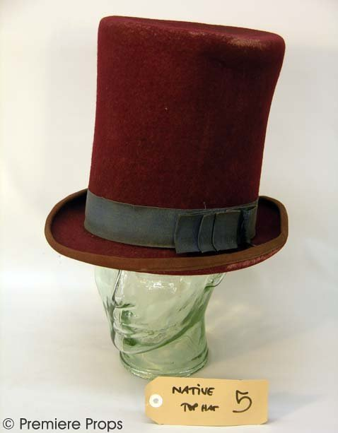 516: GANGS OF NEW YORK Native American Top Hat