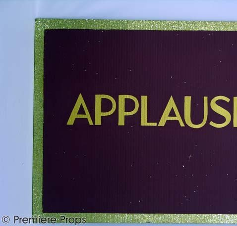 "606: CHICAGO ""Razzle Dazzle"" Applause Sign Prop"
