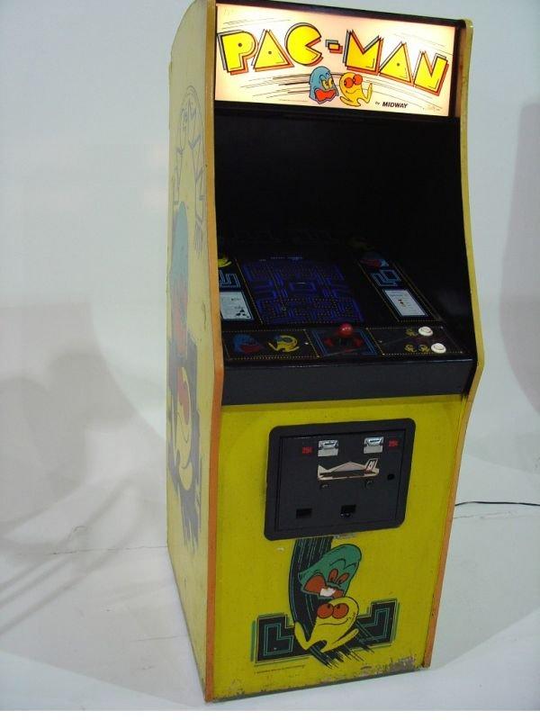 615A: Pac Man Arcade Game