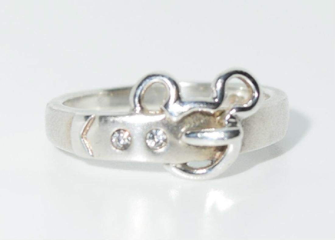 Sterling Silver Disney Mickey Mouse Ring
