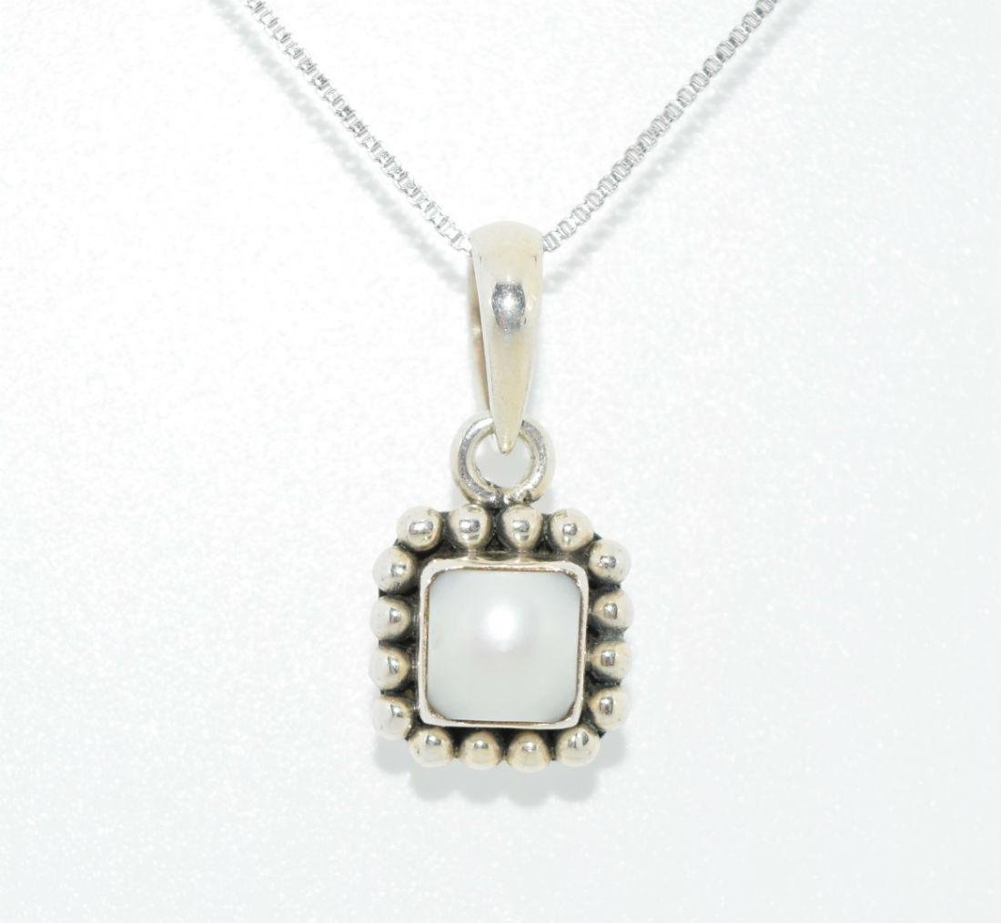 e09720666 For Auction: Silpada Sterling Silver Pearl Pendant Necklace (#NaN) on Aug  17, 2019 | One of a Kind Finds in TX