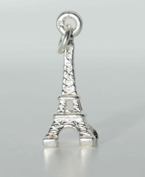 Tested Sterling Eiffel Tower Charm