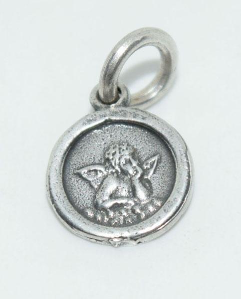 Sterling Silver Small Cherub Charm